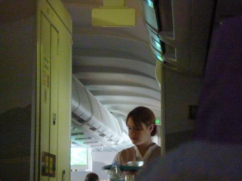 偷拍的空姐MM,不过貌似侵犯了人家的肖像权……
